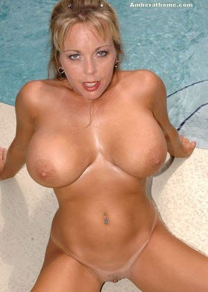 Big Tits in Pool Pictures